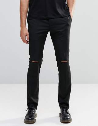 Religion Skinny Pants with Ripped Knees