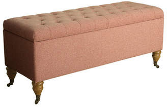 Astoria Grand Bawnard Upholstered Storage Bench