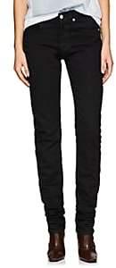 Helmut Lang Women's High-Rise Straight Jeans - Black