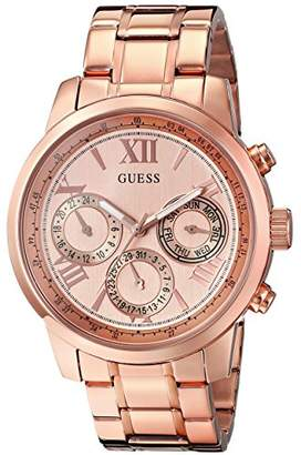 GUESS Women's Stainless Steel Classic Bracelet Watch
