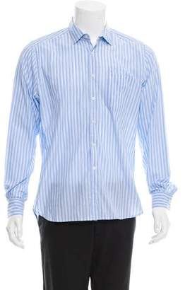 Shipley & Halmos Striped Button-Up Shirt