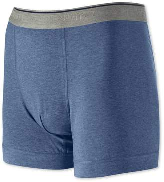 Charles Tyrwhitt Blue Cotton Stretch Jersey Trunks Size Large