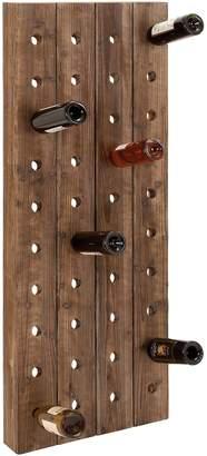 UMA Brown Wood Wine Rack