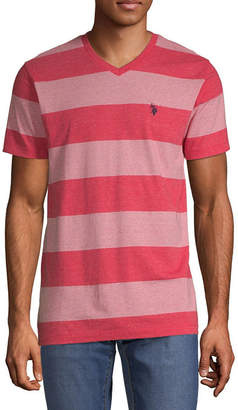 U.S. Polo Assn. USPA Mens V Neck Short Sleeve T-Shirt