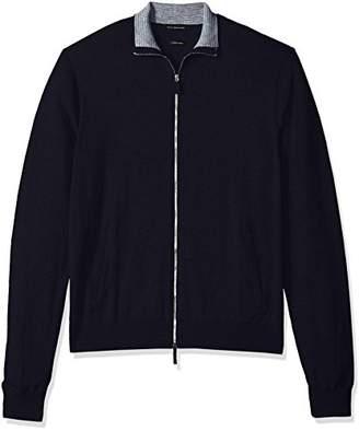 Armani Exchange A|X Men's Cashmere Zip Cardigan