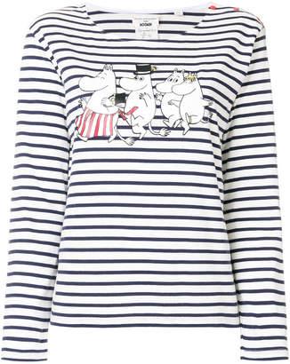 Parker Chinti & Moomin family print T-shirt