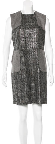 RED ValentinoRed Valentino Tweed Knit Dress w/ Tags
