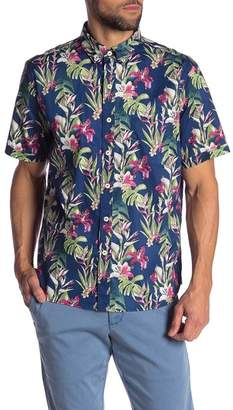 Tommy Bahama San Matera Gardens Stretch-Cotton Camp Shirt
