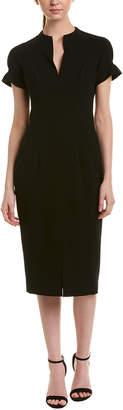 Black Halo Midi Dress