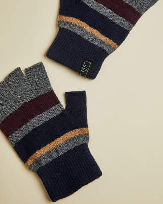Ted Baker LEESON Rib detail knitted glove