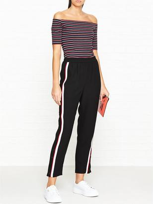 Whistles Popper Side Stripe Trousers