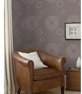 Graham And Brown Hemingway Design Wallpaper - Matchsticks Circles Pattern