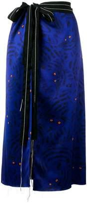 Marni Lidi printed skirt