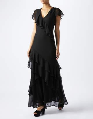 Monsoon Rosa Ruffle Maxi Dress