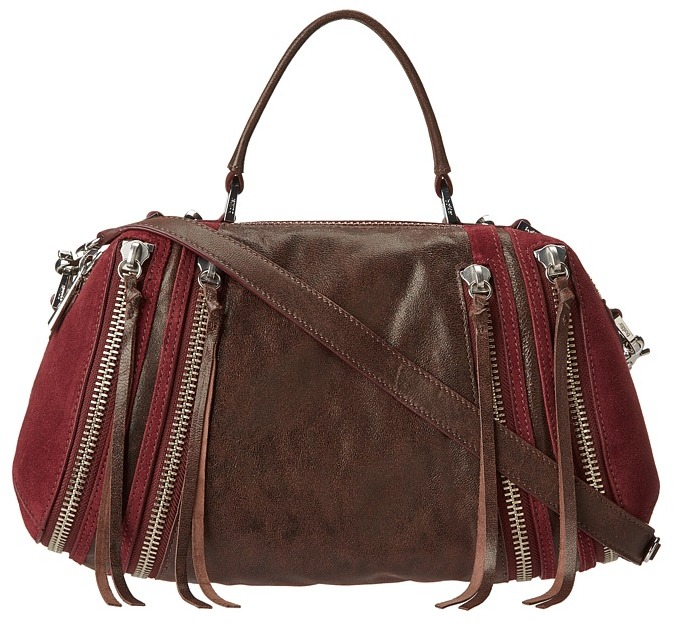 Botkier Ryder Top Handle (Wine) - Bags and Luggage