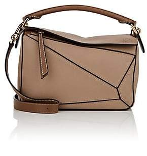 Loewe Women's Puzzle Small Leather Shoulder Bag - Sand