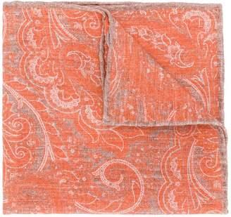 Eleventy paisley pattern scarf