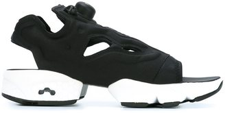 Reebok rubber sole sandals $130.38 thestylecure.com