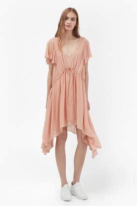 French Connection Brooke Drape Tea Dress