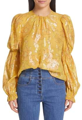 Ulla Johnson Aster Fil Coup? Blouse