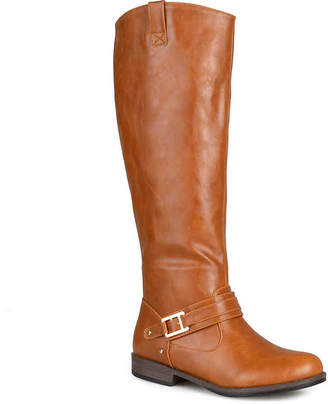 Journee Collection Kai Wide Calf Riding Boot - Women's