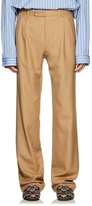 Gucci Men's Cuffed Wool Trousers