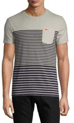 Superdry Striped Short-Sleeve Cotton Tee