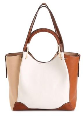 Sondra Roberts Faux Leather Shoulder Bag