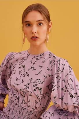 Keepsake SECURE LONG SLEEVE TOP lilac floral