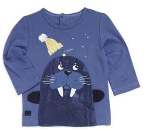 Catimini Baby Boy's& Little Boy's Walrus Tee