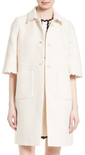 Kate SpadeWomen's Kate Spade New York Textured Tweed Coat