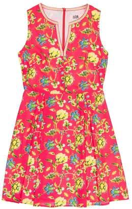 Molly Bracken Floral Print V-Neck Dress
