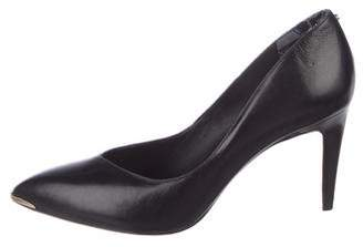 Ted Baker Leather Pointed-Toe Pumps