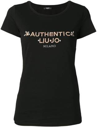 Liu Jo embroidered T-shirt