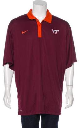 Nike Virginia Tech Polo Shirt w/ Tags