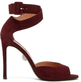 Samuele Failli - Jerry Suede Sandals - Womens - Burgundy
