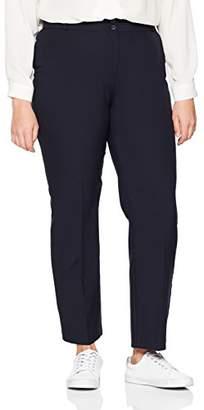 bf429e66b Simply Be Women's Straight Leg Bi-Stretch Trousers,(Manufacturer ...