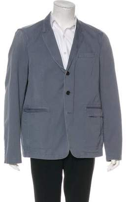 Burberry Twill Deconstructed Sport Coat