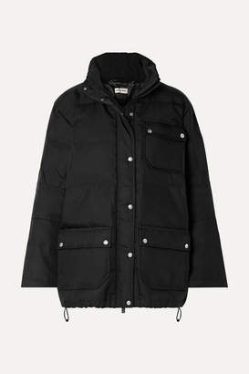 By Malene Birger Dowanga Canvas Down Jacket - Black