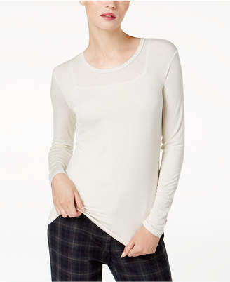 Max Mara Sheer Long-Sleeve T-Shirt