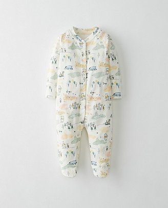 Disney Baby Winnie The Pooh Footed Sleepers In Organic Pima Cotton $45 thestylecure.com