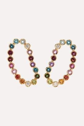 Ana Khouri Lourdes 18-karat Gold, Sapphire And Diamond Earrings