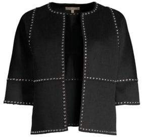 Michael Kors Studded Cookie Jackets
