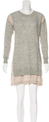 Clu Paneled Knit Dress