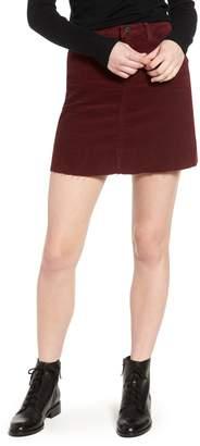 Blank NYC BLANKNYC Corduroy A-Line Miniskirt