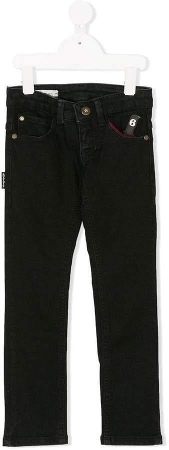 Imps & Elf Schmale Jeans mit Pfeil-Patch