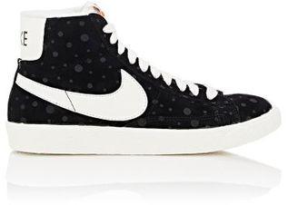 "Nike Women's ""Blazer Vintage"" Sneakers-BLACK $100 thestylecure.com"
