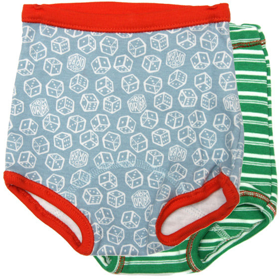 Absorba Vintage Two Pack Briefs