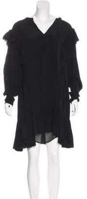 Etoile Isabel Marant Ruffles Mini Dress