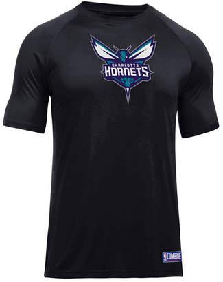 Under Armour Men's Charlotte Hornets Primary Logo T-Shirt